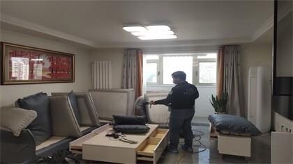 北京市朝阳区汉华苑室内除甲醛-家庭客户除甲醛案例