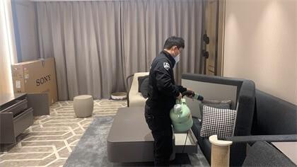 上海市静安区泰府名邸小区室内除甲醛-家庭客户除甲醛案例