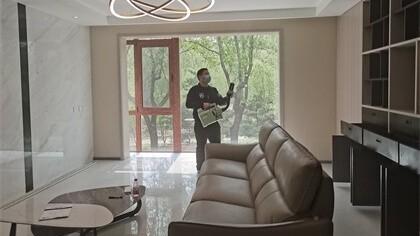 北京市海淀区长河湾小区室内除甲醛-家庭客户除甲醛案例