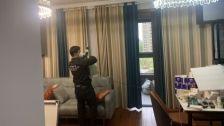 上海市奉贤区汇丰名都室内除甲醛-家庭客户除甲醛案例