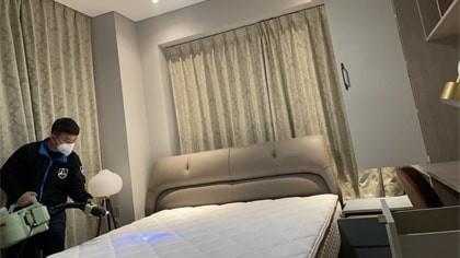 上海市浦东新区前滩华唐名邸室内除甲醛-家庭客户除甲醛案例