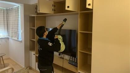 上海市浦东新区思学路小区室内除甲醛-家庭客户除甲醛案例