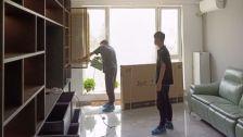 北京市朝阳区富力又一城小区室内除甲醛-家庭客户除甲醛案例