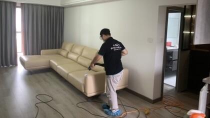 上海市浦东新区联洋年华园室内除甲醛-家庭客户除甲醛案例