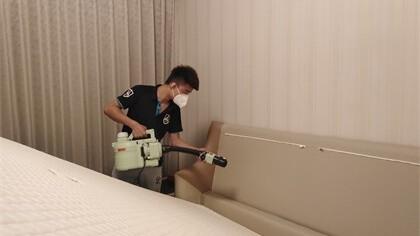 上海市虹口区国际明佳城小区室内除甲醛-家庭客户除甲醛案例