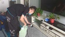 江苏省徐州市陶然水岸小区室内除甲醛-家庭客户除甲醛案例