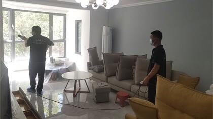 北京市通州区DBC加州小镇B区院室内除甲醛-家庭客户除甲醛案例