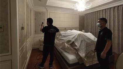 北京市朝阳区远洋·万和公馆西区室内除甲醛-家庭客户除甲醛案例