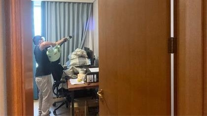上海市杨浦区上港·星江湾一期室内除甲醛-家庭客户除甲醛案例