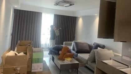 上海市闵行区万科·朗润园小区室内除甲醛-家庭客户除甲醛案例