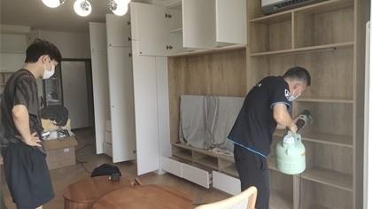 北京市丰台区角门东里小区室内除甲醛-家庭客户除甲醛案例