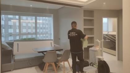 北京市海淀区纽约客公寓室内除甲醛-家庭客户除甲醛案例
