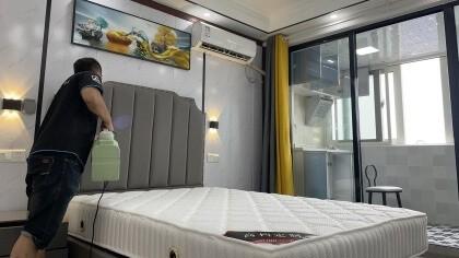 上海市闵行区汇宝公寓室内除甲醛-家庭客户除甲醛案例