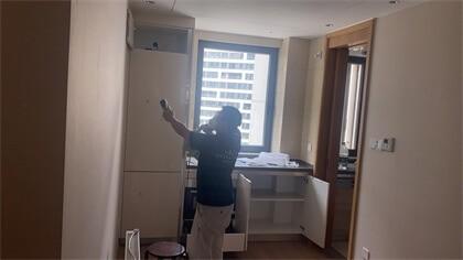 上海市浦东新区前滩晶萃名邸小区室内除甲醛-家庭客户除甲醛案例