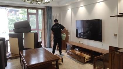 北京市大兴区金地·格林小镇室内除甲醛-家庭客户除甲醛案例