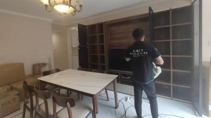 北京市海淀区紫金长安小区室内除甲醛-家庭客户除甲醛案例