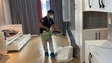 上海市浦东新区前滩华唐名邸除甲醛-家庭客户除甲醛案例