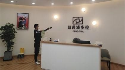 上海市长宁区致尚潘多拉儿童摄影除甲醛-知名机构除甲醛案例