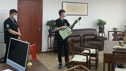 北京市朝阳区京汇大厦除甲醛-知名机构除甲醛案例