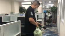 北京市朝阳区温特莱中心办公室室内除甲醛-知名机构除甲醛案例