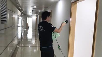 浙江省杭州市国土局办公室室内除甲醛-政府国企除甲醛案例