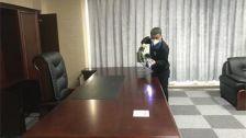 上海市嘉定区中国电建市政建设集团上海公司室内除甲醛-政府国企除甲醛案例