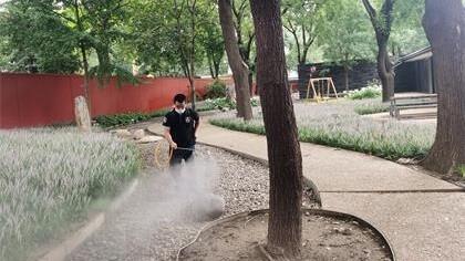 北京市朝阳区荷兰大使馆室内除甲醛-政府国企除甲醛案例