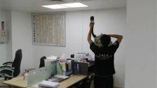 广东省东莞市中惠熙元物业室内除甲醛-商铺物业除甲醛案例