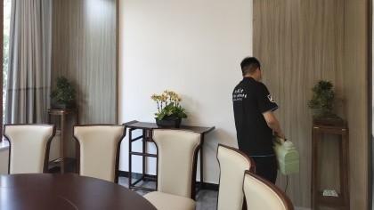 北京市海淀区中餐宴会厅除甲醛-酒店餐饮除甲醛案例