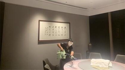 上海市静安区上海静安50中餐厅室内除甲醛-酒店餐饮除甲醛案例