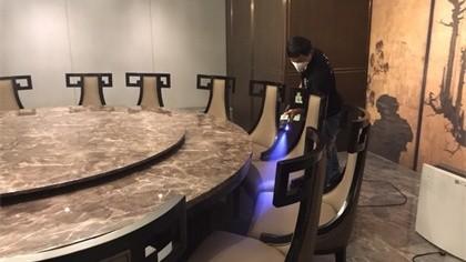 上海市静安区延平路高级会所室内除甲醛-娱乐会所除甲醛案例