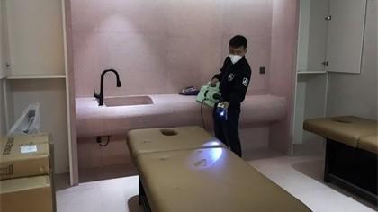 北京市通州区艾手艾脚美甲室内除甲醛-娱乐会所除甲醛案例
