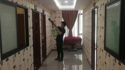 四川省成都市茶楼室内除甲醛-娱乐会所除甲醛案例