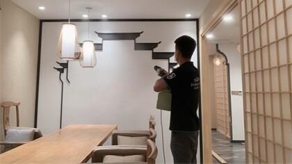 上海市闵行区峻林茶胜室内除甲醛-娱乐会所除甲醛案例