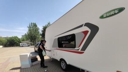 河北省廊坊市爱旅房车车内除甲醛-汽车除甲醛案例