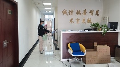 北京市朝阳区园林绿化公司除甲醛-其他机构除甲醛案例